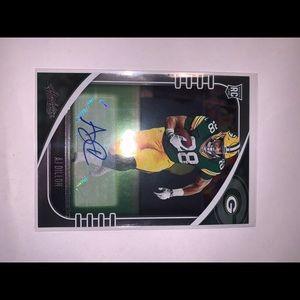 Green Bay packers aj Dillon card rare autograph